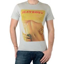 Vêtements Homme T-shirts manches courtes Eleven Paris Tee Shirt  PB Boob M Play Boy Gris