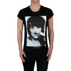 Vêtements T-shirts manches courtes Eleven Paris Tee Shirt Perry SS Mixte Noir