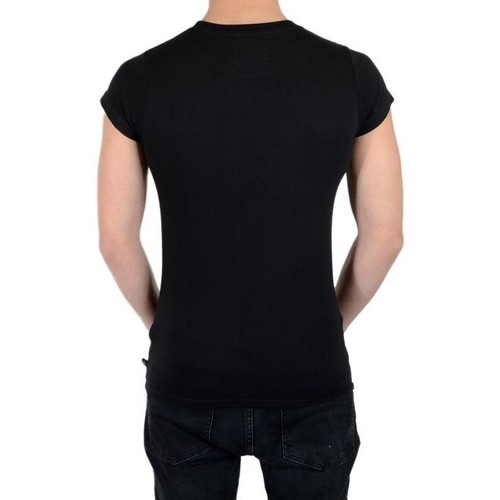 Ss Tee Paris T Manches Courtes Mixte Shirt shirts Noir Perry Eleven tsQChrxd