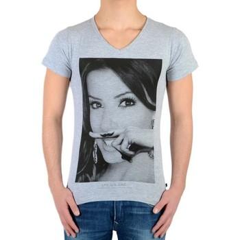 Vêtements T-shirts manches courtes Eleven Paris Tee Shirt Eva SS Mixte Gris