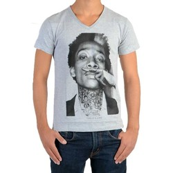 Vêtements T-shirts manches courtes Eleven Paris Tee Shirt Wiz SS Mixte Gris