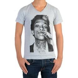 Vêtements T-shirts manches courtes Eleven Paris Wiz SS Mixte Gris