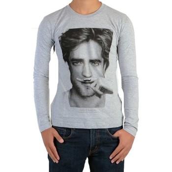 Vêtements Enfant T-shirts manches longues Eleven Paris Tee Shirt  Berty LS Mixte Gris