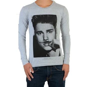 Vêtements Enfant Polos manches longues Eleven Paris Tee Shirt  Bieber LS Mixte Gris