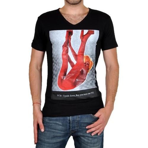 Homme Noir N°20 shirts Manches Tee Paris Courtes T Eleven Shirt Ts PkTOuwXZi