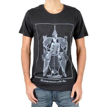 Vêtements Homme T-shirts manches courtes Eleven Paris T-Shirt Tort Noir