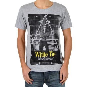 Vêtements Homme T-shirts manches courtes Eleven Paris T-Shirt White Tie Gris