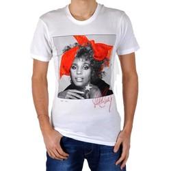 Vêtements Femme T-shirts manches courtes Eleven Paris T-Shirt Whitney Blanc