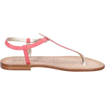 Chaussures Femme Sandales et Nu-pieds Eddy Daniele chaussures femme  sandales rose daim ax914 rose