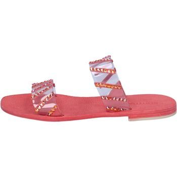 Chaussures Femme Sandales et Nu-pieds Eddy Daniele chaussures femme  sandales rouge plastica con cristalli swarovsk rouge