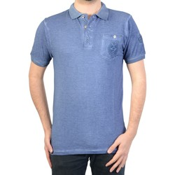 Vêtements Homme Polos manches courtes Geographical Norway Polo  kaucun Indigo