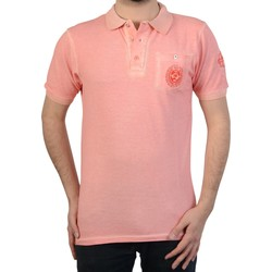 Vêtements Homme Polos manches courtes Geographical Norway Polo  kaucun Rose