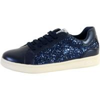 Chaussures Femme Baskets basses Geox Basket  Enfant J DJROCK Bleu 2