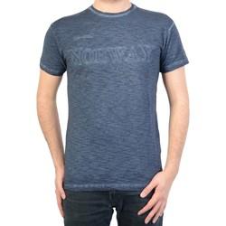 Vêtements Homme T-shirts manches courtes Geographical Norway T-Shirt jebel Bleu