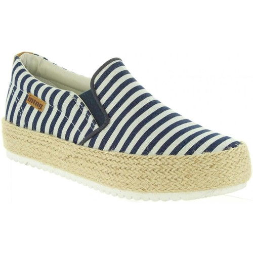 MTNG 69154 Azul - Chaussures Slips on Femme