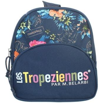 Sacs Sacs à dos Les Tropéziennes par M Belarbi Mini Sac à dos Les tropéziennes ref_syd43785 Bleu 22*24*12 bleu