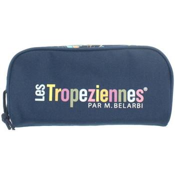 Sacs Trousses Les Tropéziennes par M Belarbi Trousse Les Tropeziennes ref_trop43788 Bleu 22*24*12 Bleu