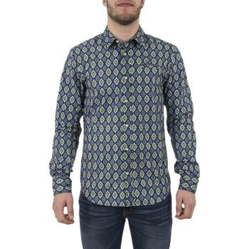 Vêtements Homme Chemises manches longues Scotch & Soda 136326 Bleu