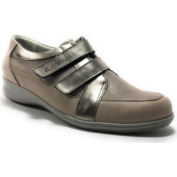 7322136de11b6b Chaussures Femme Baskets basses Suave 7525IC Or