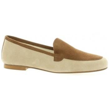 Chaussures Femme Mocassins Elizabeth Stuart Mocassins cuir velours  sable Sable