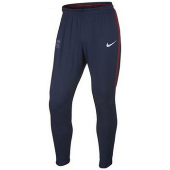 Vêtements Homme Pantalons de survêtement Nike Pantalon de football  Paris Saint-Germain Dry Squad - Ref. 85461 Bleu