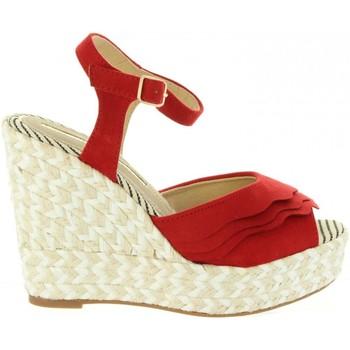 Chaussures Femme Sandales et Nu-pieds Maria Mare 67180 Rojo