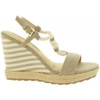 Chaussures Femme Espadrilles Maria Mare 67109 Beige