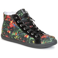 Chaussures Femme Baskets montantes Love Moschino JA15132G0KJE0000 Noir / Multicolore