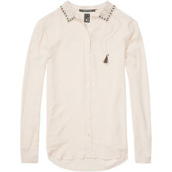 Vêtements Femme Chemises / Chemisiers Scotch & Soda 131137 Ecru