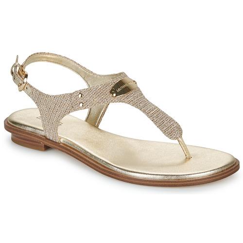 Chaussures Femme Sandales et Nu-pieds MICHAEL Michael Kors MK PLATE Doré