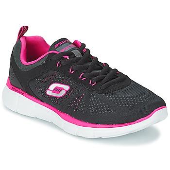 Chaussures Femme Multisport Skechers EQUALIZER Noir / Rose