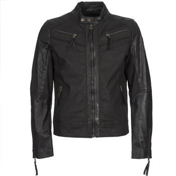 Vêtements Homme Vestes en cuir / synthétiques Redskins DRAKE Noir