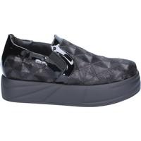 Chaussures Femme Slip ons Jeannot slip on mocassins noir paillettes BX129 noir