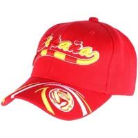 Accessoires textile Casquettes Pays Casquette Portugal Football rouge jaune vert Rouge