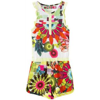 Vêtements Fille Shorts / Bermudas Desigual Salopette OSEZNO Amarillo 61P33D4 (sp) Jaune