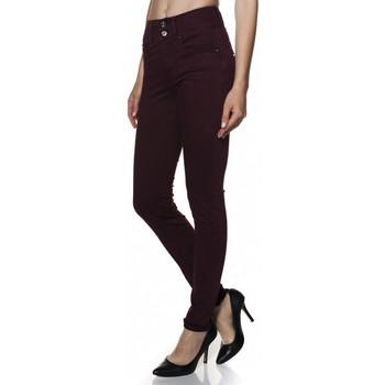 Vêtements Femme Jeans slim Salsa Pantalon  Wonder Push In en sergé de couleur et jambe skinny