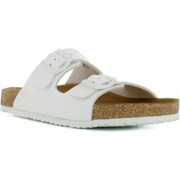 El Naturalista NE50 VEGANO WHITE / WARAJI Bianco - Chaussures Mules Femme