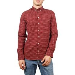 Vêtements Homme Chemises manches longues Minimum REX Bordeaux