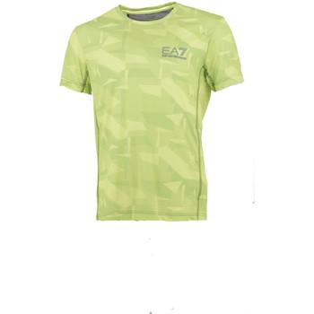 Vêtements Homme T-shirts manches courtes Ea7 Emporio Armani Tee-shirt EA7 Jaune