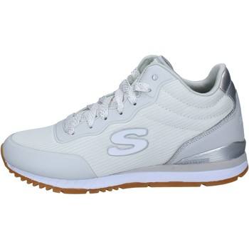 Chaussures Skechers sneakers blanc textile BX188