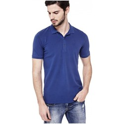 Vêtements Homme Polos manches courtes Guess Polo Homme Roni Bleu Bleu