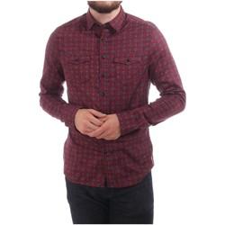 Vêtements Homme Chemises manches longues Pearly King NIMBLE Bordeaux