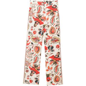 Vêtements Femme Pantalons fluides / Sarouels Desigual 18SWPW15 Blanc