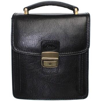 Sacs Homme Pochettes / Sacoches Francinel Sacoche  en cuir ref_lhc35923-noir Noir