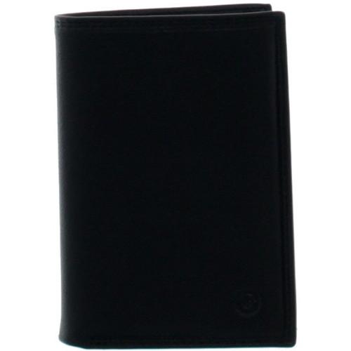 Sacs Homme Portefeuilles Francinel Portefeuille  en cuir ref_lhc35924-noir Noir