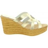 Chaussures Femme Sandales et Nu-pieds Cumbia 30986 Plateado