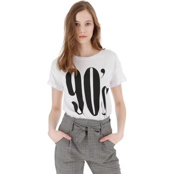 Vêtements Femme T-shirts manches courtes Please 90'S Blanc