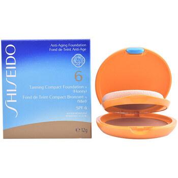 Beauté Femme Fonds de teint & Bases Shiseido Tanning Compact Foundation Spf6 honey 12 Gr 12 g