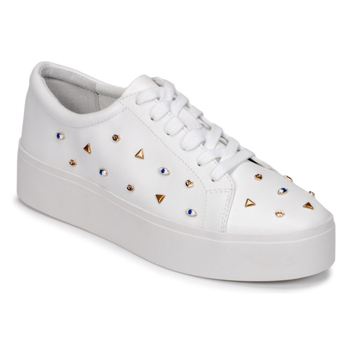 Chaussures Femme Baskets basses Katy Perry THE DYLAN Blanc