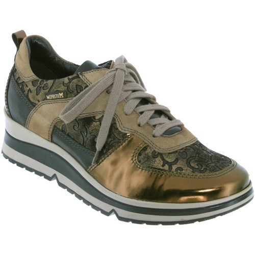 Chaussures Femme Baskets basses Mephisto Vicky Mordoré cuir